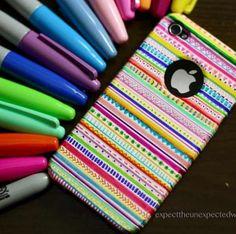DIY iPhone case- love it!!