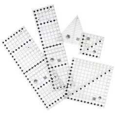 what's new in quilting tools..  these non skid creative grid rulers...the best!