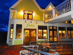 Sage Inn Provincetown Massachusetts. Had a beautiful dinner in the lounge