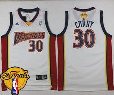 Warriors  30 Stephen Curry White Throwback The Finals Patch Stitched NBA  Jersey Brooklyn Nets 250149b23