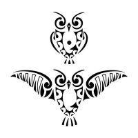 hiboux, oiseaux symboles de la nuit et de la spiritualité.