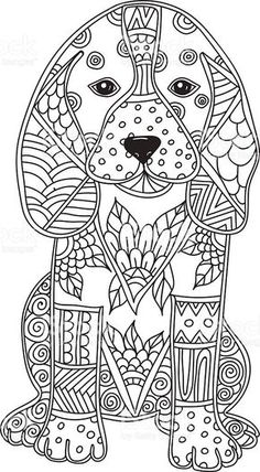 dog-adult-antistress-or-children-coloring-page-vector-id546797058 (564×1024)