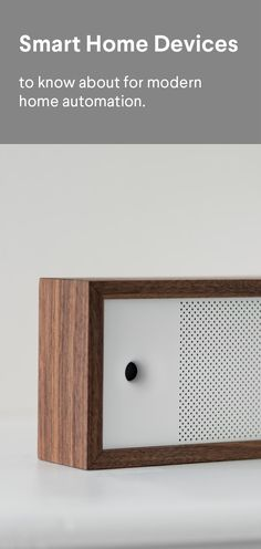 Cool smart home devices for an automation loop. www.getwair.com