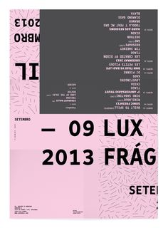 LuxFrágil Flyer, Set. 2013