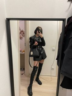 Look Fashion, Leather Skirt, Skirts, Style, Swag, Leather Skirts, Skirt, Gowns