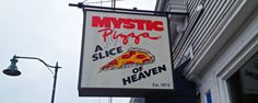 """If you're like most Americans, you've probably seen or at least are aware of the 1988 movie entitled Mystic Pizza. This movie has helped to popularize the actual restaurant it was set in, as well to spread their slogan of """"A Slice of Heaven""""."""