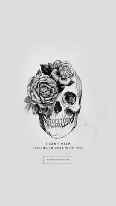 Can't Help Falling In Love Lyrics Wallpapers by KAESPO Design