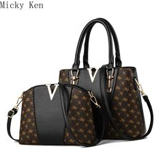 - Women Bags Set 2 Pcs Leather Handbag Women Tote Bag Ladies Shoulder Bag for Women 2019 Messenger Bag Sac a Main  Zeinab Fashion  .  .  #handbags #clutches#handbagsale #bagslover #bagsforsale#preorderusa #lahorefashion #purses