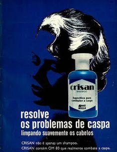 Anúncio shampoo Crisan - 1977