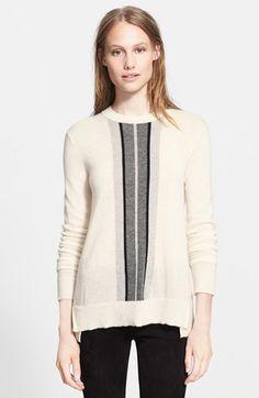 Vince Regimental Stripe Sweater available at #Nordstrom