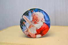 1960s Santa Claus Tin by BlackbirdAntiquesNC on Etsy