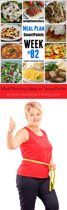 Weight Watchers Friendly Meal Planning Ideas Week #82 - easy healthy recipes with SmartPoints | simple-nourished-living.com
