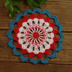 20pcs round handmade crocheted doilies crochet by ColoredHome