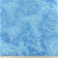 """Medium Blue Earth Series Fabric is 44"""" - 45"""" wide and 100% cotton.    CARE INSTRUCTIONS - Machine Wash, Warm; Tumble Dry; Remove Promptly.    Available in 1-yard increments. Average bolt size is approximately 15 yards. Price displayed is for 1-yard. Enter the total number of yards you want to order."""