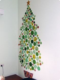 so funny! i said i would rather put up a decal on my wall of a christmas tree than decorate one!