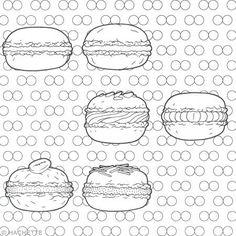 Livre coloriage adulte - 100 cupcakes à colorier - 25 x 36 cm - Photo n°5