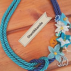 (notitle) – gülnur soykan – Join the world of pin Crochet Bracelet, Textile Jewelry, Bargello, Chainmaille, Textiles, Diy And Crafts, Jewelery, Pendant, Bracelets