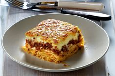 Can't get any more Greek than that… 3 main steps to a delicious pastitsio.