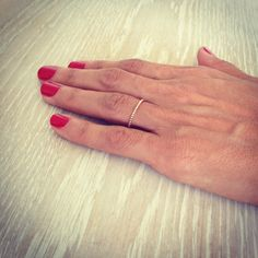 Gold Ring Gold Filled Ring Eternity Ring Simple by LuluMayJewelry