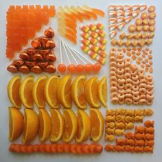 Orange Art Print by Adam Hillman - X-Small Orange Aesthetic, Rainbow Aesthetic, Aesthetic Colors, Aesthetic Food, Satisfying Pictures, Oddly Satisfying Videos, Satisfying Things, Orange Art, Orange You Glad