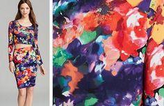 Aqua Photo PrintedTop - Textile Blog