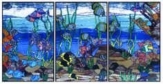 stained glass tropical panels | tropical bath the tropical bath panels are designed for a master bath ...