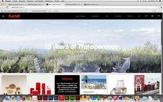 4/5 goede websites. Kartell is een goede website omdat het niet druk is en ook super overzichtelijk. Ook komen de kleuren mooi overeen. De lettertype is ook super duidelijk.   http://www.kartell.com/nl