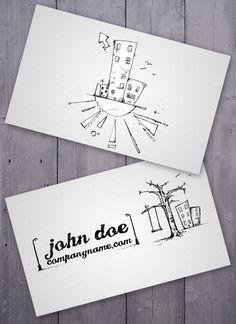 cartoon-business-card => more at designresources.io