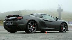 McLaren 650S versus fog