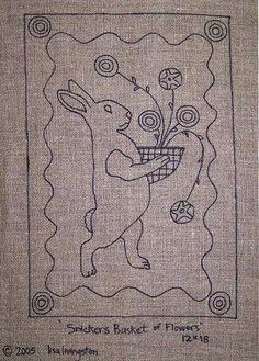 adorable prim bunny