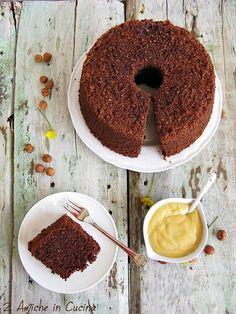 Chiffon Cake alle Nocciole con Crema al Passito di Pantelleria, la Fluffosa delle Bloggalline
