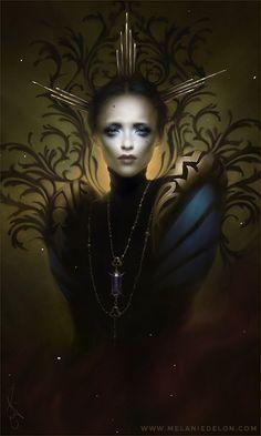 "APHRODISIAC ART           - melaniedelon:   New artwork ""Phantom"" =)   WEB |..."