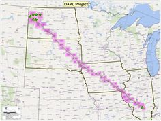 """If finished, the 30-inch underground pipes will stretch 1,172 miles and carry 470,000 barrels of crude oil per day. The US Geological Survey estimates there are 7.4 billion barrels of """"undiscovered, technically recoverable oil"""" at the pipeline's starting point in North Dakota. So the idea is to get that oil out of the ground and to refineries and markets in other parts of the US."""