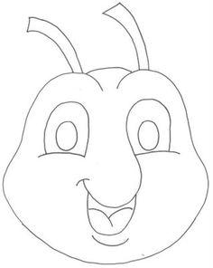 ESPAÇO EDUCAR: Máscaras a cigarra e a formiga para imprimir e trabalhar a fábula!