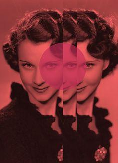Classic Beauty Remixed by Ramiro Baldivieso, via Behance