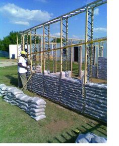 sandbag houses | Greener building