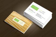 A Kreart Bútor asztalos vállalkozás számára készített névjegykártya