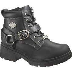 Womens Harley Davidson Boot Tegan...I have these plus a million more ;-) <3