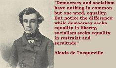 de Tocqueville on Freedom