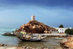 Oman | Dhow at Sur. credit: Prasad Pillai