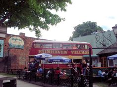 The cool bus at Fairhaven, great food. Photos by Bellingham Explorer - Your online magazine for Fun Things to do in Bellingham and Whatcom County