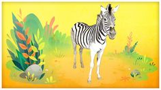 "Animal Songs: ""He's a Zebra,"" by StoryBots"
