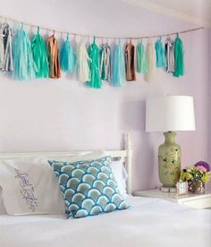 Tassel Garland as home or party decor!