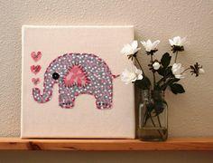 How to DIY Baby Art for Nursery Ideas - http://abinursery.com/how-to-diy-baby-art-for-nursery-ideas/