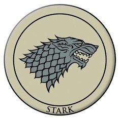 Herren Paar Wolf Anstecknadel Stark Game Mann Stecker Thrones Brosche Offiziell