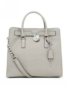 8f32b9698d55 Michael Kors Hamilton Tote Çanta - Gri #michaelkors Mk Handbags, Best  Handbags, Leather