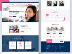 Global Design, Ux Design, Design Ideas, Insurance Website, Family Website, History Taking, Corporate Presentation, Website Design Inspiration, Show And Tell