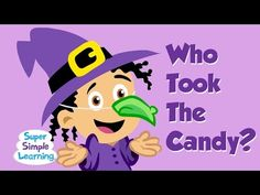 ▶ Who Took The Candy? | Halloween Song | Super Simple Songs - YouTube