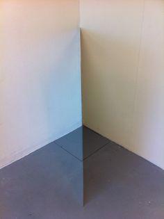 Corner piece - Abstract Sculpture by Artist Peter Svedberg, aluminum