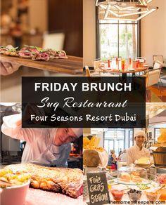 Friday Brunch at Suq Restaurant, Four Seasons Dubai Jumeirah Beach #Food #Restaurants #Dubai #Brunch #UAE